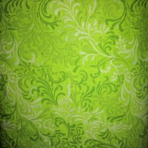 Wide-Quilt-Backing-Lime-Scroll-108in-Wlmington-Prints-Cotton-Sold-by-the-Yard