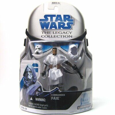 Star Wars Legacy Collection BD24 Clone Trooper Commander Faie Loose Complete