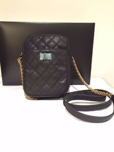 c43d6b11a0a8 Image is loading Authentic-Chanel-Black-Quilted-Calfskin-Leather-Reissue-2-