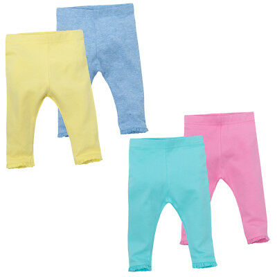 Minikidz Infants Leggings with Lace Trim Ankle