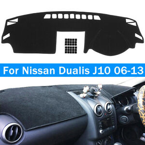 Dashboard-Sun-Cover-Dashmat-Dash-Mat-Pad-Carpet-For-Nissan-Dualis-J10-2006-2013