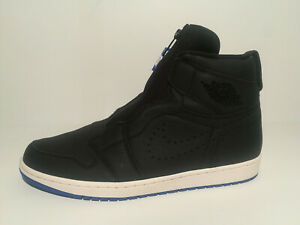 10ca1c2096ba Nike Jordan 1 High Retro Zip Black Hyper Royal Pre-Release Sample ...