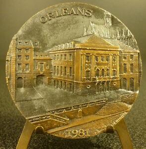 Medaglia-Ville-di-Orleans-Cattedrale-Sainte-Croix-C-Pasquet-Sc-R-Bernard-Medal