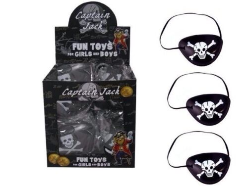 1x PIRATE EYE PATCH CHILDREN LOOT GOODY PARTY BAGS PINNATA UK SELLER