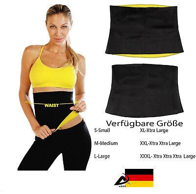 Ingenious Neopren Bauchweggürtel Bauch Gürtel Fitness Schwitzgürtel Thermogürtel Slimming