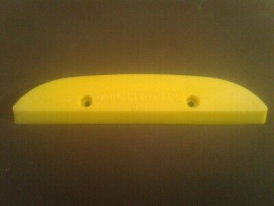 """White NOS Vintage 80/'s Tail Feather Skateboard tail guard skid plate 8.5/"""""""