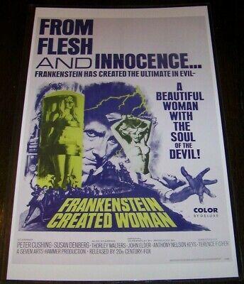 Bride of Frankenstein Movie Poster Photo 8x10 11x17 16x20 22x28 24x36 27x40