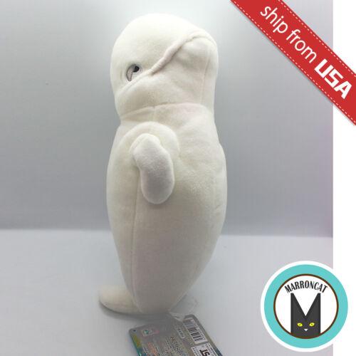 Japan Disney Bandai Finding Dory Beluga Whale Bailey Plush Stuffed Animal Doll