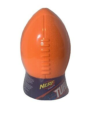 Nerf Sports Turbo Jr Football New in Package Orange /& Gray Ball Hasbro Ages 4+