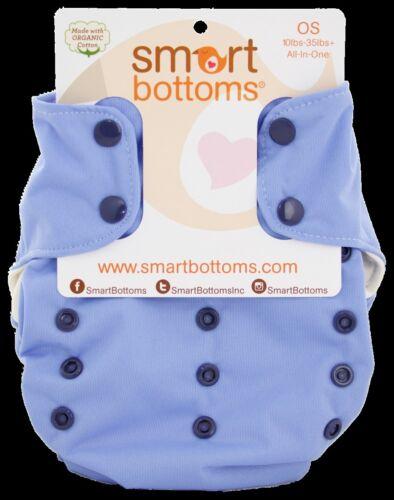 ORGANIC SMART BOTTOMS SMART ONE DIAPER 3.1 STORM CLOUD