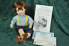 Jeffrey All Grown Up Porcelain Collectible Doll by Elke Hutchens Danbury Mint