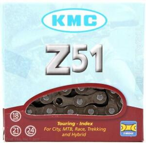 KMC-Z51-5-6-7-8-Speed-3-32-034-Bicycle-Chain-w-MissingLink-116L-fits-Shimano-SRAM