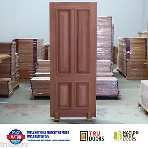 Image Is Loading 4 Panel Traditional French Solid Timber Doors Heavy