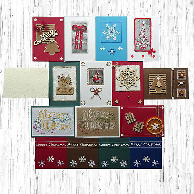 FREE stylish ENVELOPES HANDCRAFTED Xmas CHRISTMAS CARDS with holiday greeting
