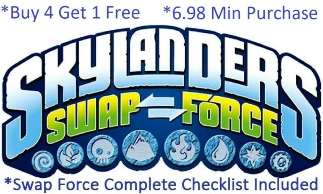 Wii Bundle Pack Skylanders Swap Force Mega Spyro Super Gulp Pop Fizz Star Strike For Sale Online Ebay