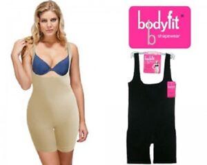 Women-039-s-Under-bust-Shape-wear-Full-Body-Control-Bodysuit-by-Body-fit