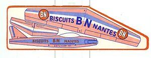 decoupage-publicitaire-biscuits-BN-Nantes-avion-reaction-Mystere-Tour-de-France