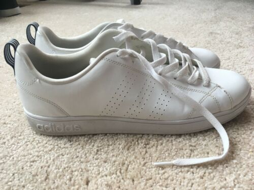 ADIDAS NEO Men's Advantage Clean VS Sneaker White Blu… - Gem