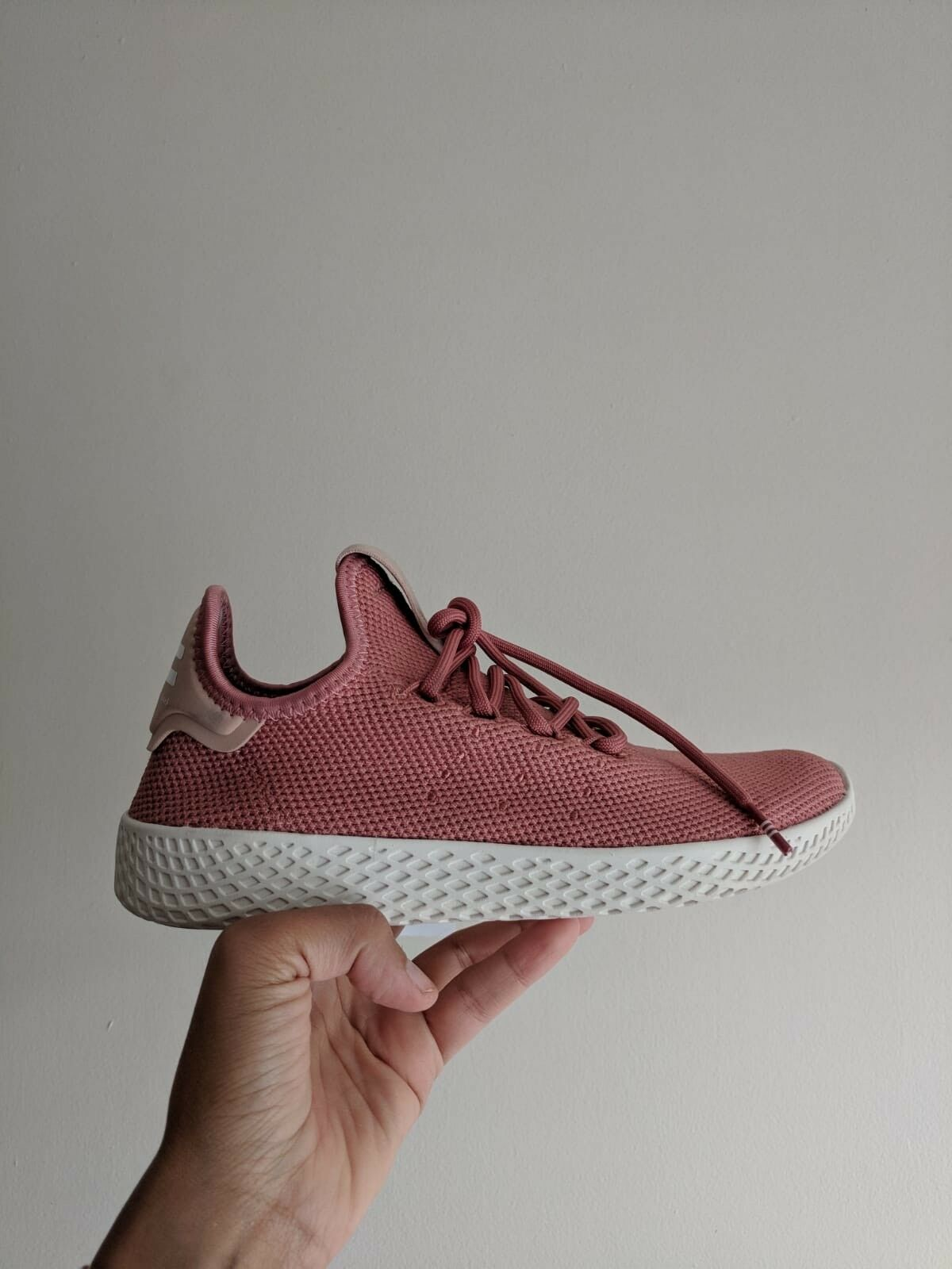 nouveau adidas pharrell williams formateurs rose rose rose royaume uni taille 4 7f8c4e