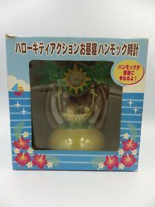 Hello-Kitty-Object-Rare-Clock-Watch-Diorama-2008-Sanrio-IN-Box-Japan-Eikoh