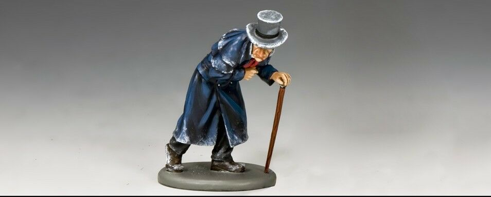 KING AND COUNTRY COUNTRY Dickens - Ebenezer Scrooge WoD037 WoD37 Painted Metal
