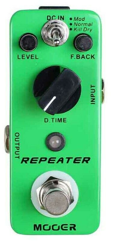 Mooer MDL1 Repeater 3 Modes Digital Delay Guitar Effects Pedal