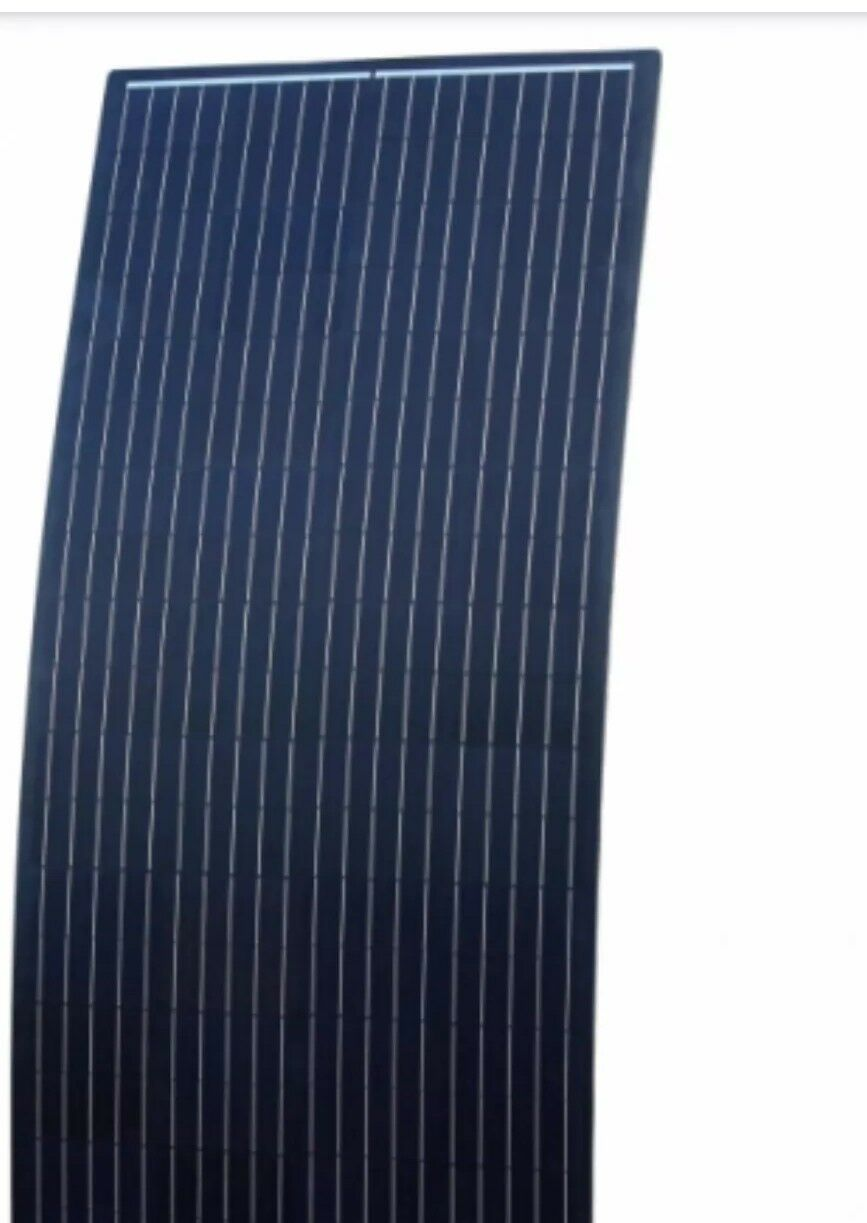 110w flexible solar panel kit (vw t5 t6 camper boat includes fitting kit)