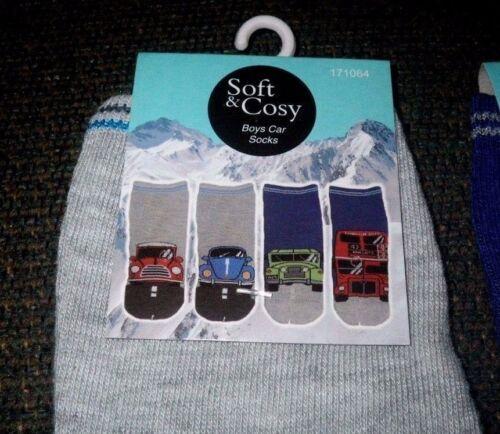 Beetle Boys Bus Car Print Socks Mini Minor London Bus Socks Hummer
