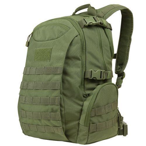 Condessor 155-001 26L 15 55555533; 65033; 15.4 blad 655533; bovenblad MOLLE Commuter Pack Olive OD