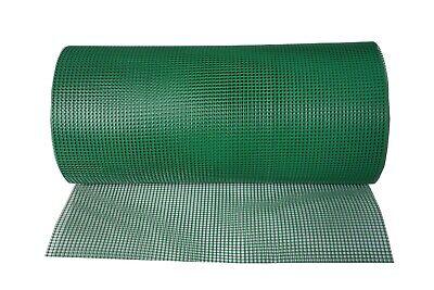 Foglish Green Plastic Garden Fencing Mesh Netting Climbing Plants Vegetables Pets 5m x 1m x 50mm
