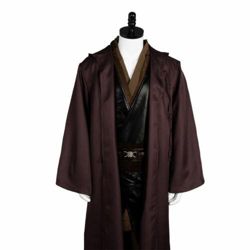 Details about  /Star Wars Jedi Anakin Skywalker Sith Darth Vader Cosplay Costume Suit Cape