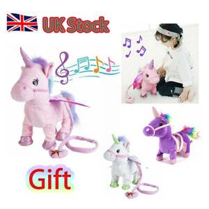 Kids-Walking-Talking-Unicorn-Plush-Toy-With-Talk-Singing-Songs-XMAS-Doll-Gift-UK