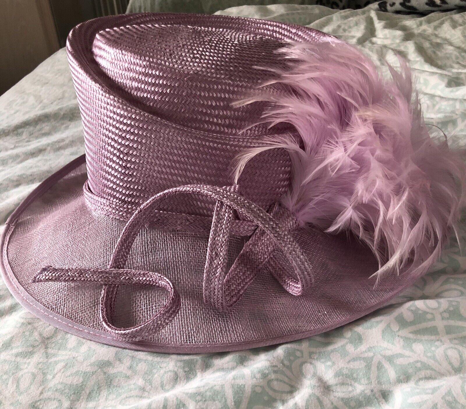 Ladies CC Lavender Pink Wedding/ Races/ Ladies Day / Ascot Hat