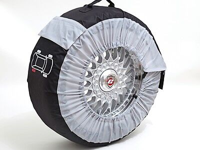 Set of 4-Ideal For Track Day//Winter Tyre Richbrook Standard Wheel And Tyre Bags