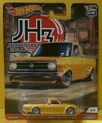 b120 Hot Wheels Cultura Carro Japão Historics 3 75 Datsun Sunny Caminhão