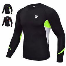FIXGEAR C2S-B42 Compression Base Layer Workout Shirt Sportswear Gym MMA