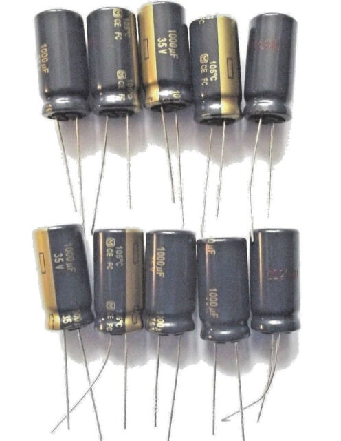 1000uf 35v 105c LOW ESR size 12.5mmx25mm Panasonic  EEUFC1V102   x10pcs