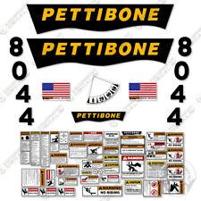 Pettibone 8044 Decal Kit Telescopic Forklift Warning Safety 3m Vinyl