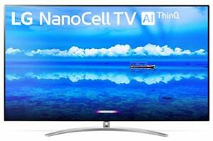 "LG 65SM9500PUA 65"" 4K Ultra HD Smart LED NanoCell TV 2019 Amazon Google 65SM9500"