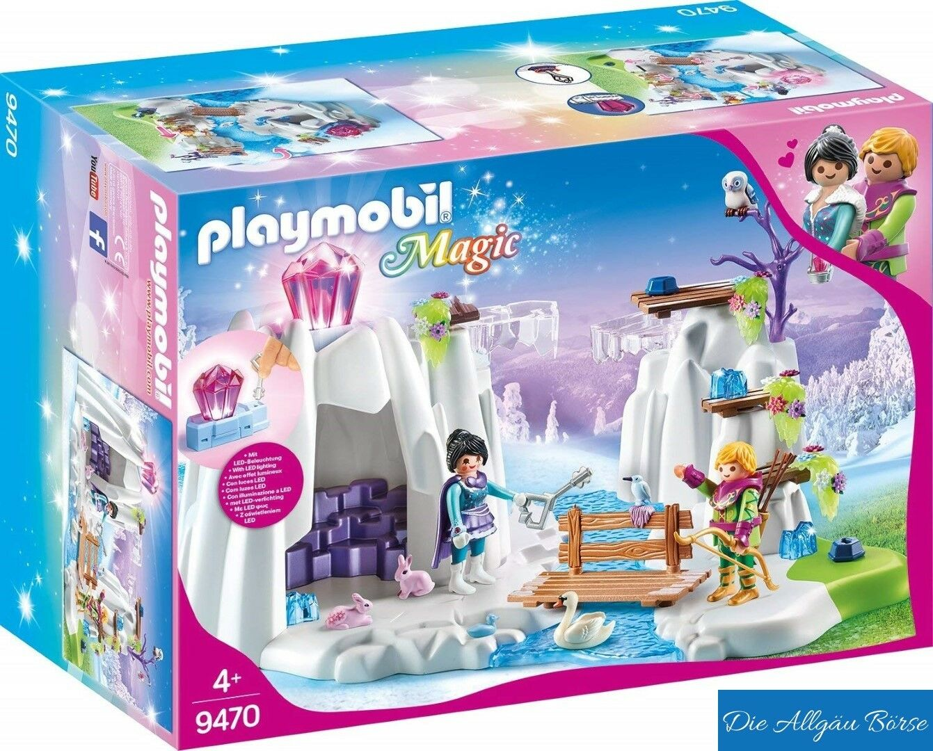 Playmobil 9470 Suche nach d. Liebeskristall Magic Elfe Fee Fee Fee Kristall Neu OVP dec7d9