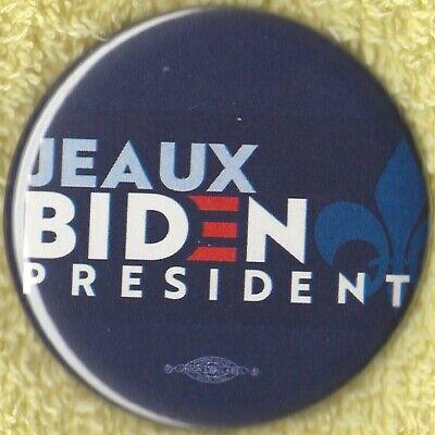 """Pin-DE1 2020 Joe Biden 2.25/"""" /""""Official Delaware/"""" Presidential Campaign Button"""