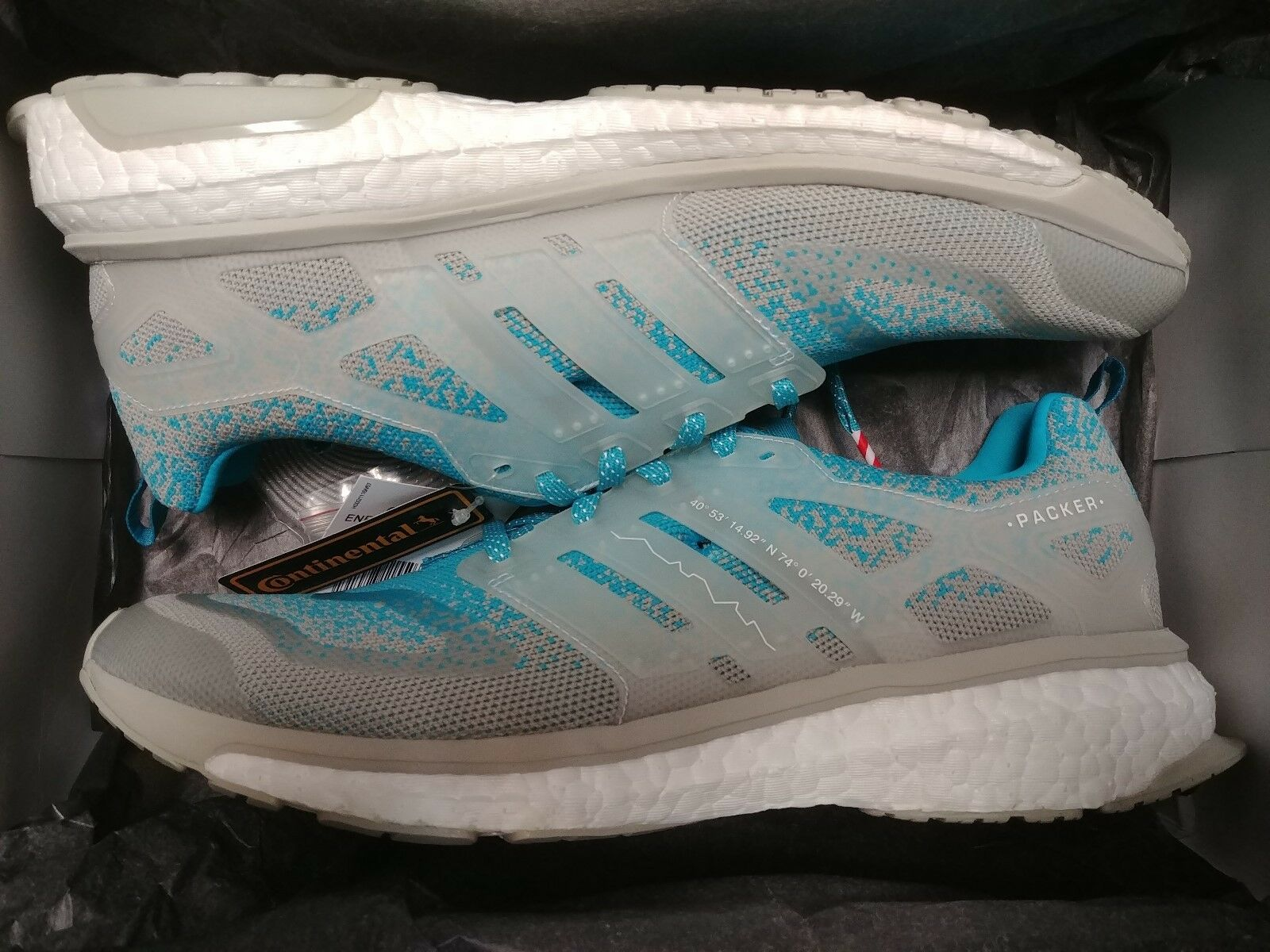 ADIDAS ENERGY BOOST S.E. PACKER SOLEBOX Sz 8-13 GREY blueE CP9762