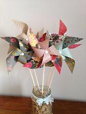 Paper Pinwheel Kit Winter Wedding DIY Christmas Centre Piece decorations