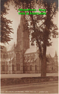R338031 Salisbury Cathedral from the N. E. Judges. 5351. J. E. Beale