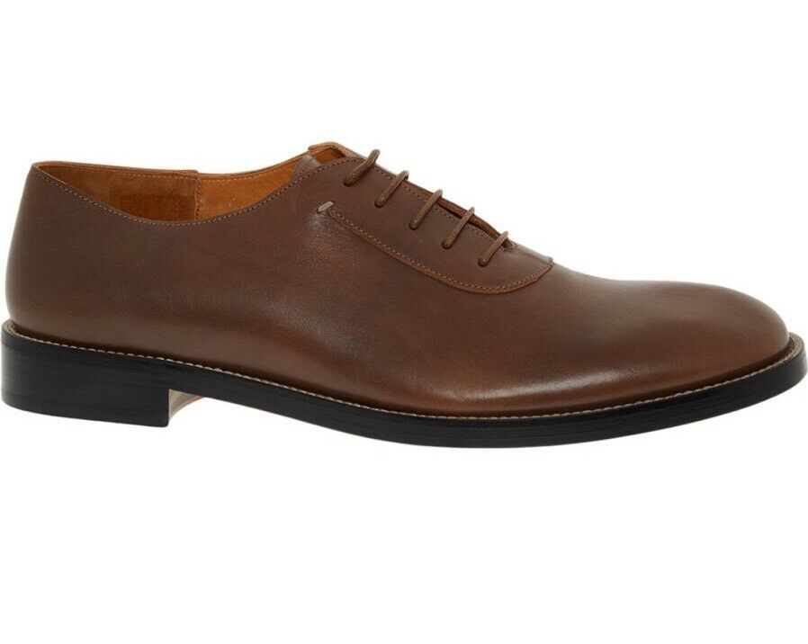 MAISON MARTIN MARGIELA Brown Leather Derby shoes Size UK 11 EU 45