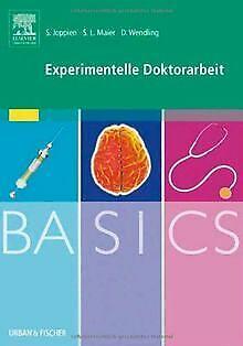 BASICS Experimentelle Doktorarbeit von Saskia Joppien | Buch | Zustand sehr gut