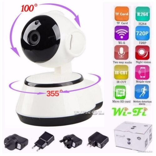 WIFI Wireless Pan Tilt 720P Security Network Motion CCTV IP Camera Night Vision