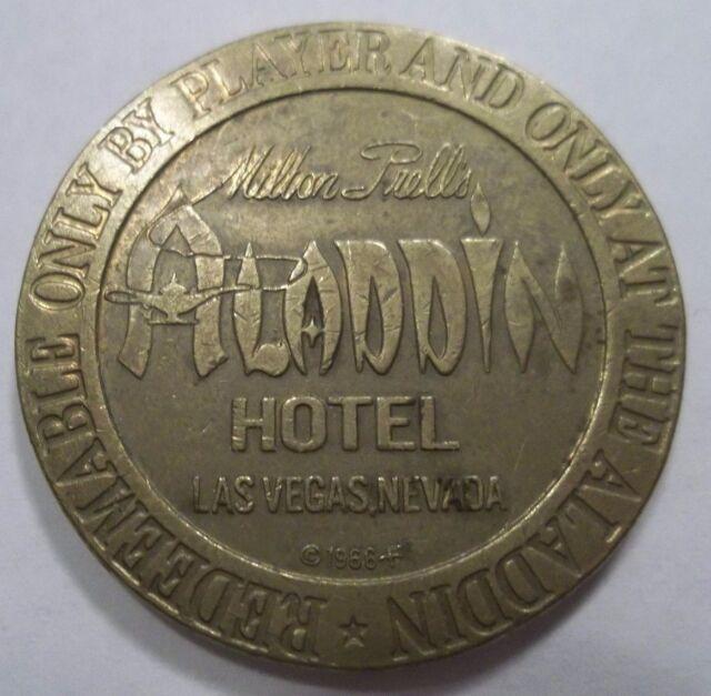 aladdin casino las vegas collector coins