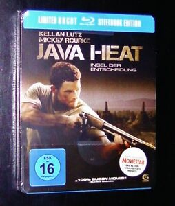 JAVA-HEAT-LIMITED-UNCUT-STEELBOOK-EDITION-BLU-RAY-FAST-SHIPPING-NEW-amp-VINTAGE