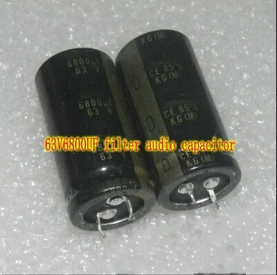 63V 10uf Audio Crossover capacitor Promise Electrolytic capacitor HiFi parts